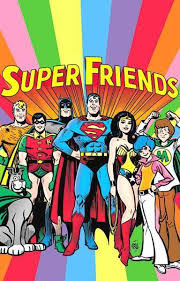 super friends saay morning cartoon from the 70 s
