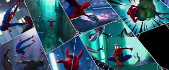 Crayola spiderverse coloring book pages, 1 full color spiderman poster, 28 pages, gifts for teens & adults. Spider Man Into The Spider Verse Required Inventing A New Kind Of Animation Technology Syfy Wire