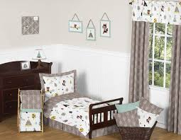 outdoor adventure nature toddler bedding 5pc set by sweet jojo designs only 99 99