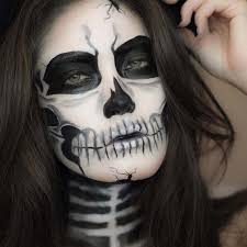 y skeleton for creepy makeup ideas