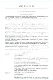 Maintenance Engineer Resume Sample Operations Engineer Resume
