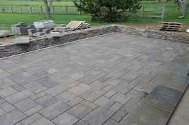 stone patio installation:  perfect decoration stone paver patio amazing stone patio pavers