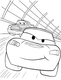 Small Picture Pixar Track Racing Coloring Page Coloring Page Pinterest