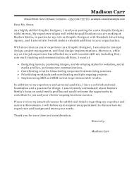 Best Graphic Designer Cover Letter Examples Ideas Collection