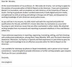 Sports Journalism Cover Letter Examples Mediafoxstudio Com