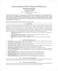 Project Management Proposal Template Free Software Business Sample 7 ...