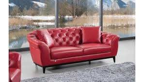 kira italian leather sofa
