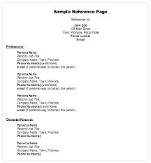 Resume With Reference Free Resume References Template Samples Available Upon
