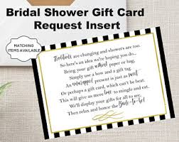 unwrapped gifts etsy Wedding Shower Gift Cards display shower gift card unwrapped gift request poem insert for bridal shower invitation instant download wedding shower gift cards to print