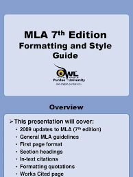 Mla Guidelines Citation 12 Views