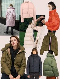 let s play marshmallows and tuck ourselves in one of these warm oversized puffer jackets nhka hide winter jacket samsoe samsoe pink puffer jacket