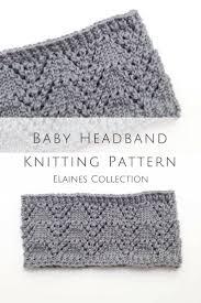 Baby Headband Knitting Pattern Custom Decoration