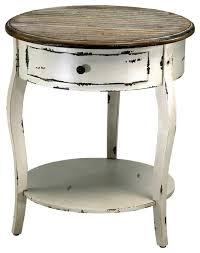 rustic white nightstand. Distressed Rustic White Nightstand U