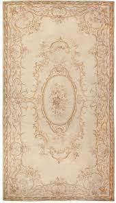 antique french aubusson carpet 46451 detail large view