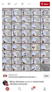 Power Plate Wall Chart 7 Best Power Plate Images Exercises Rigs Whole Body