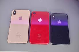 iphone xs max vs iphone xr vs iphone xs