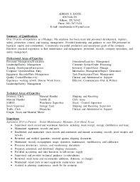 Mail Handler Resume Sample Resume For Material Handler Sample Resume For Material