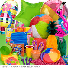 pool party supplies. Wonderful Party Pool Party Ultimate Birthday Box In Supplies I