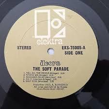 popsike The DOORS Soft Parade Original US Gold Elektra