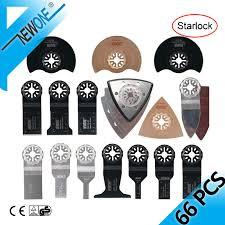 <b>NEWONE 66 pcs</b> Pack <b>Starlock</b> E cut Multi Cutter Saw <b>Blades</b> Set ...