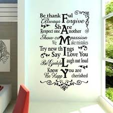 sweet brilliant wall decorations goodly art words stickers thanks family wall stickers wall decal removable art home mural decor vinyl be thanks family  on wall art words stickers with sweet brilliant wall decorations goodly art words stickers thanks