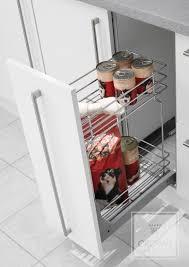 kitchen furniture designs. Astonishing Furniture Design With Slide Out Wire Basket : Elegant Kitchen For Decoration Designs