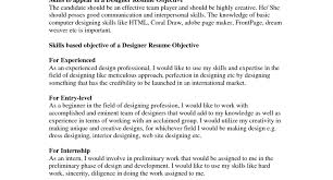 Is An Objective Needed On A Resume Career Necessary Are Objectives