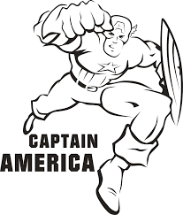 Small Picture Captain America Coloring Page Cool Captain America Coloring Pages