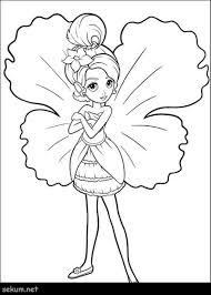 Barbie Fairy Coloring Pages Free A Website Full Of Free Printable