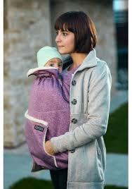 baby carrier ISARA winter gear cover wild cherry melange