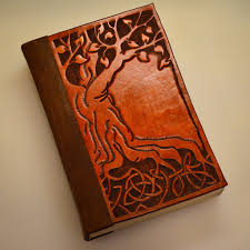 picture of bind a book in tooled leather