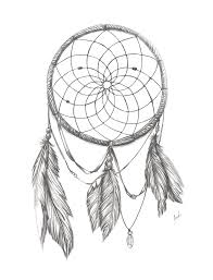 Native Dream Catchers Drawings Simple Dreamcatcher Drawing Designs At GetDrawings Free For Personal