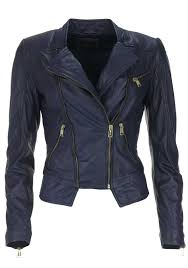 guess womens genuine leather jacket navy 50 off
