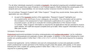 About Changes To The Nih Biosketch Nih Biosketch Libguides At