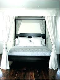 4 Post Bed King 4 Poster Bed Curtains 4 Post Canopy Bed Full Size Of ...