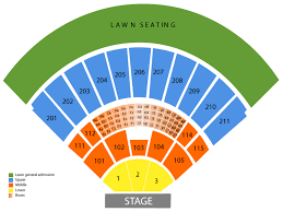 Amp Seating Chart Toyota Amphitheatre Seating Chart And Tickets