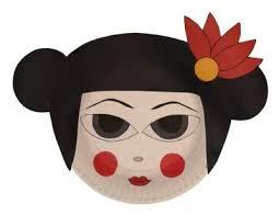 japanese for mask japanese crafts for kids dltk s crafts for kids paper plate beaver