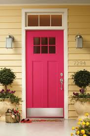 red door glass modern. red door glass modern pink front with panes