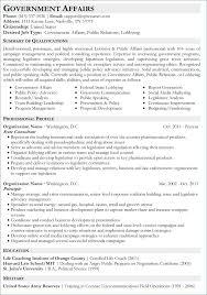 Resume Format Sample For Job Application Resume Layout Com