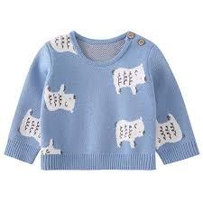 pureborn Baby Boys Girls O-Neck Toddler Sweaters ... - Amazon.com