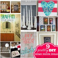 Small Picture Pretty DIY Home Decor Ideas Featuring YOU