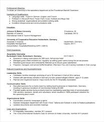 Internship Resume Template Microsoft Word Delectable Marriott School Resume Template Unique Internship Resume Template
