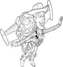 Coloriage Buzz L Clair Et Woody Imprimer Dessin De BuzzEclair Et Woody L