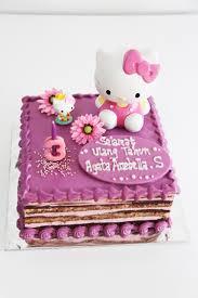 Opera Cake Hello Kitty