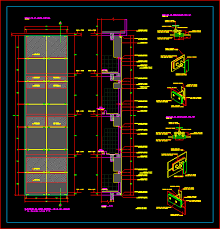curtain wall systems cad details gopelling net