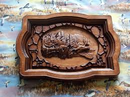 Wood Carved Wall Decor Sale Clearance Duck Hunting Wood Carving Wall Hanging