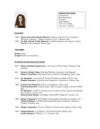 Resume Templates Nz - Kleo.beachfix.co