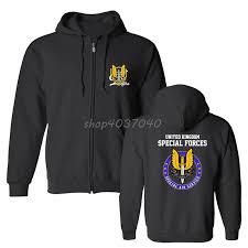 New Fashion Print Hoodies New Special Air Service Sas United Kingdom Print Sweatshirtss Men Cotton