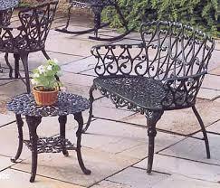 aluminum garden bench. Brilliant Aluminum Cast Aluminum Garden And Patio Furniture With Bench R