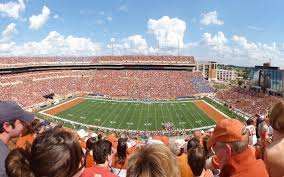 Darrell K Royal Texas Memorial Stadium Seating Chart Map